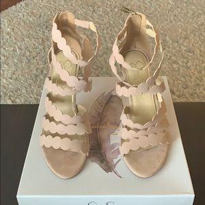 Jessica Simpson size 9 Nude Blush heels